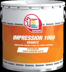 Impression 1009 granitée